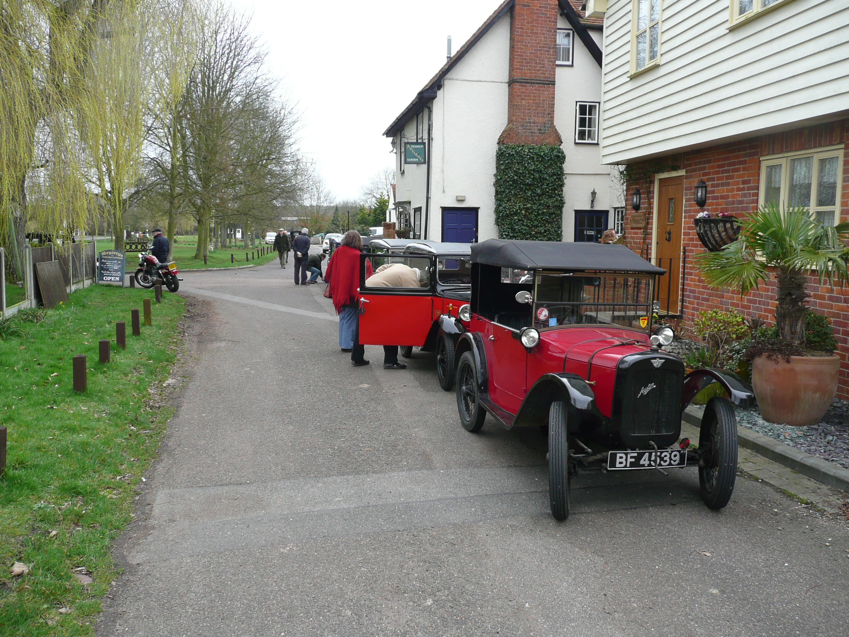 about 8 Austin 7 cars,